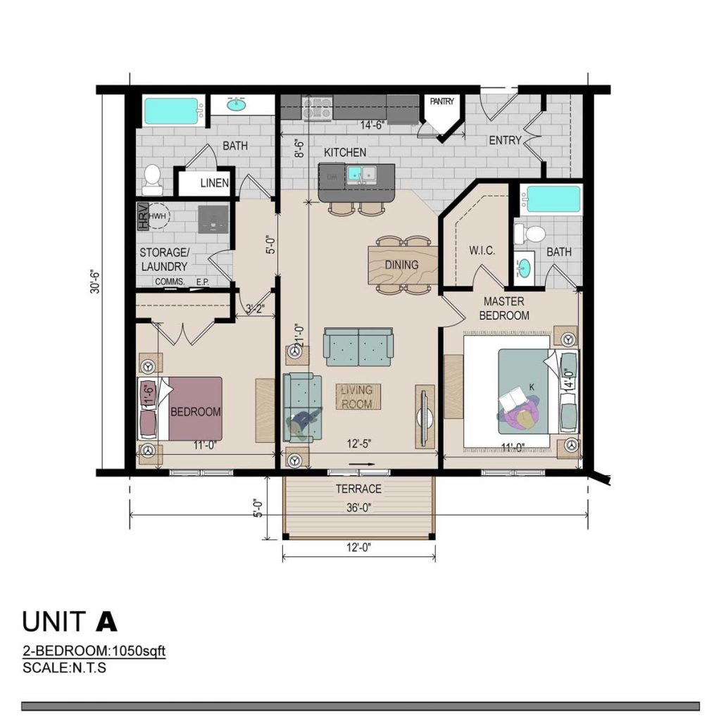50-Noel-Floor-Plan-Two-Bedroom-Unit-A