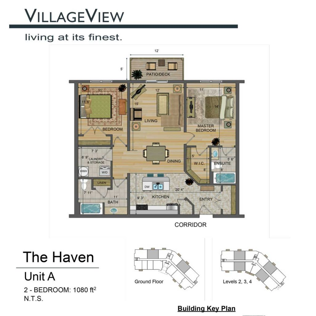 49-Noel-Avenue-Unit-A-Two-Bedroom-Floor-Plan