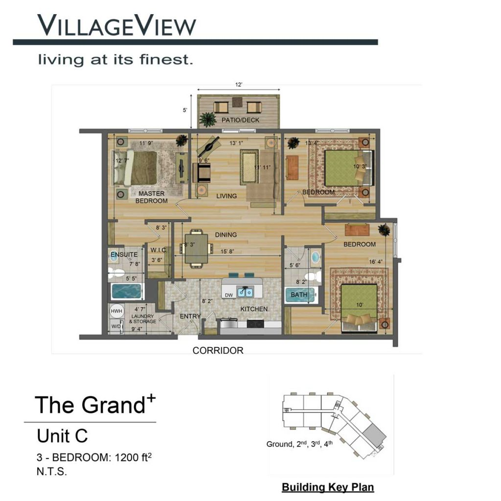 49-Noel-Avenue-Unit-C-Three-Bedroom-Floor-Plan