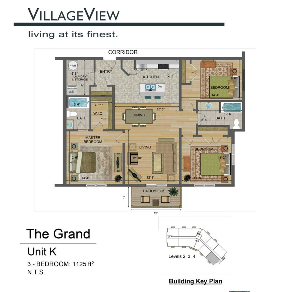 49-Noel-Avenue-Unit-K-Three-Bedroom-Floor-Plan